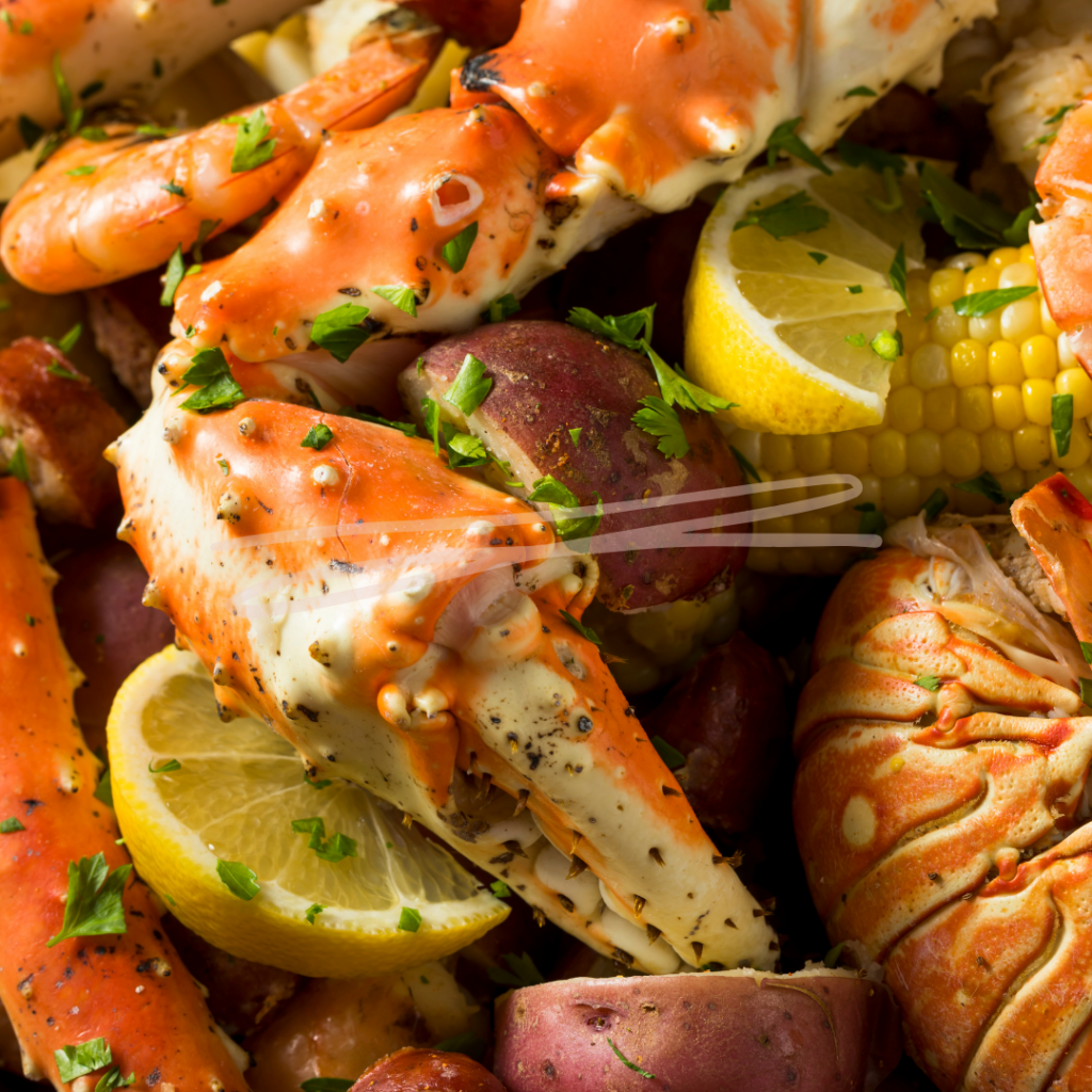 outdoor seafood boil