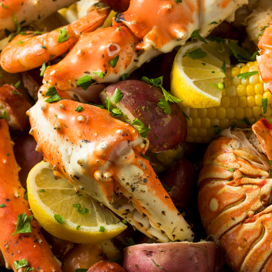 The ultimate seafood boil