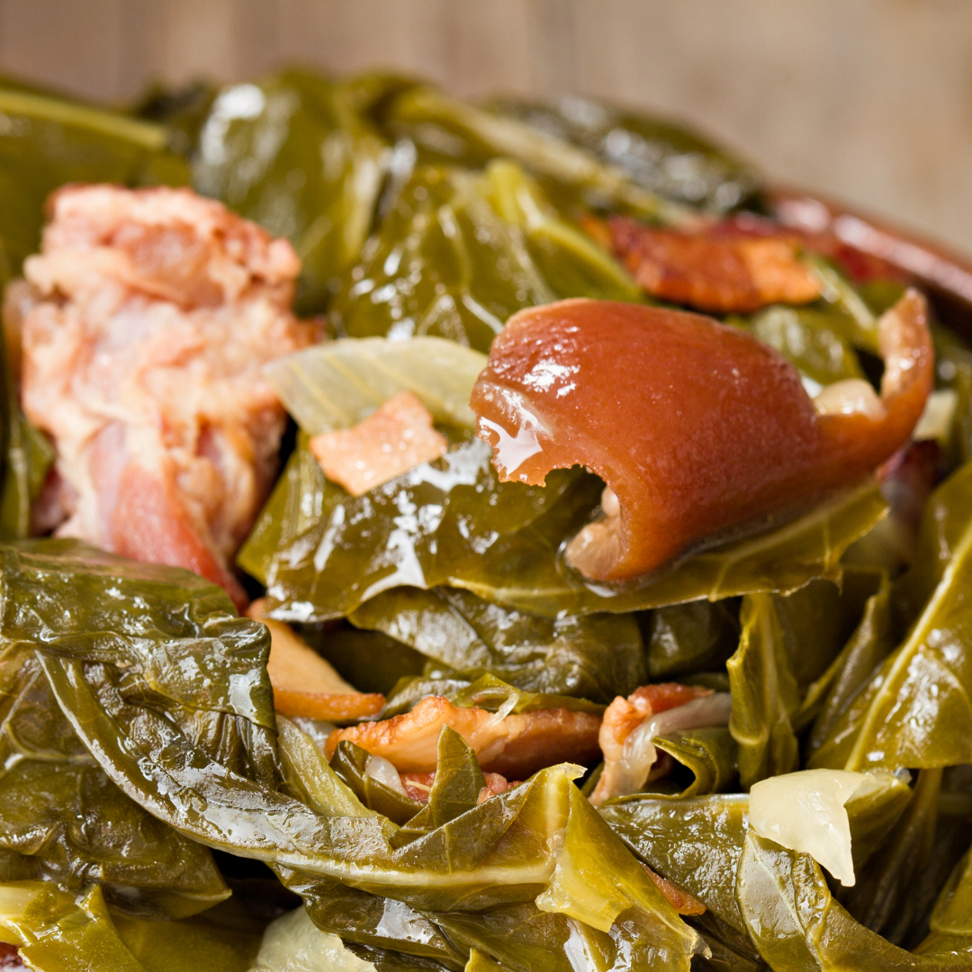 The best Southern collard greens