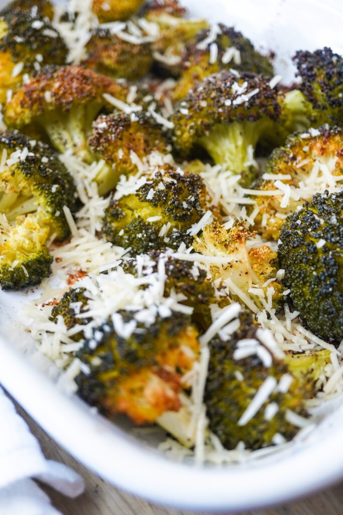 Quick and easy oven roasted broccoli